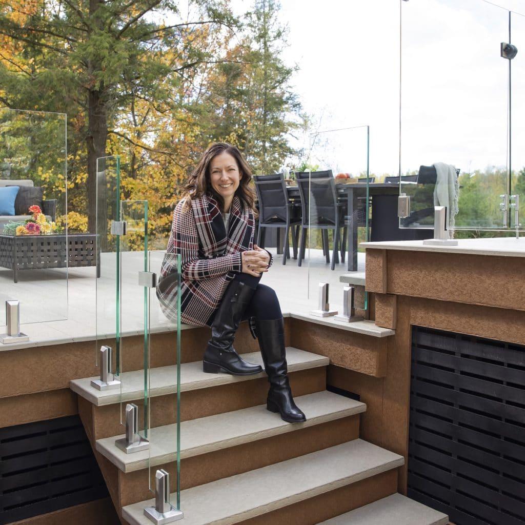 Planche pour patio Dekavie