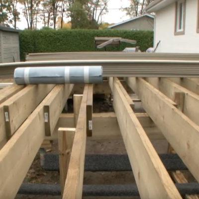 Build a durable deck
