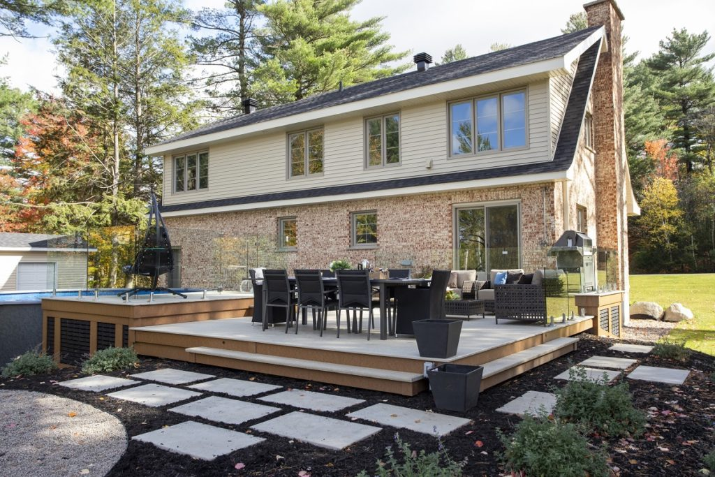 build a sustainable deck